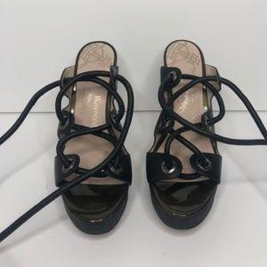 Vivienne Westwood Anglomania Leather Rope Heels